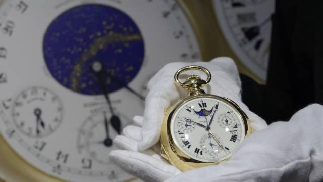 "Die Uhr ""Henry Graves Supercomplication"" in Genf"