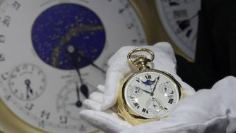 "Die Uhr ""Henry Graves Supercomplication"" in Genf"