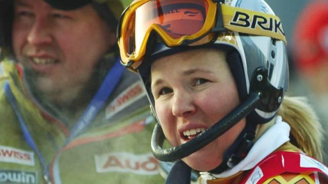 Anja Pärsson blieb im Abfahrtstraining in Sestriere ungefährdet