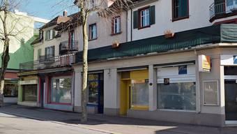Was mit diesem leerstehenden Gebäudekomplex an der Zentralstrasse passieren wird, ist unklar.