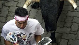 Ein Mann erlag einem gereizten Stier im ostspanischen Navajas (Symbolbild)