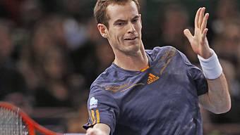 Andy Murray startete mit einem Sieg