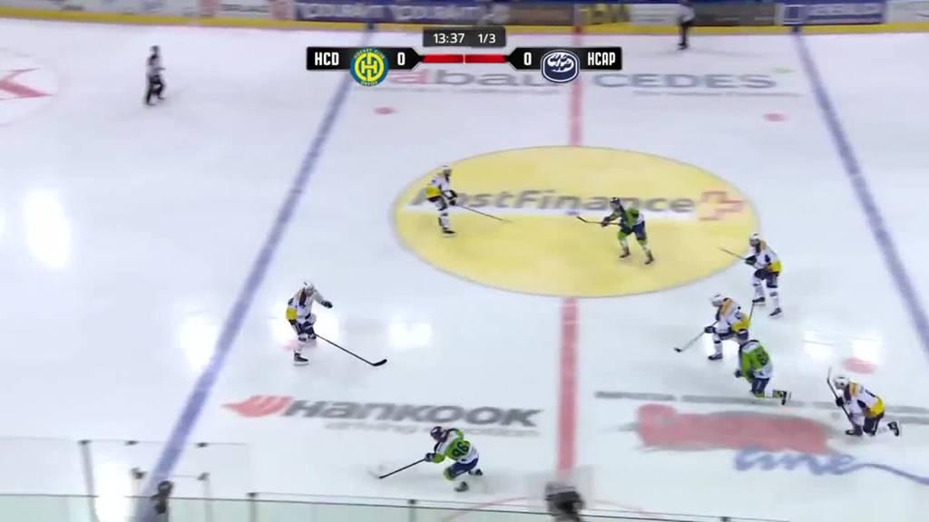 HC Davos schlägt erstmals diese Saison Ambri