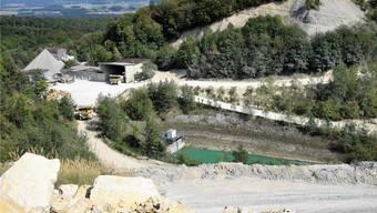 Der Steinbruch Gabenchopf in Villigen soll um rund 5,8 Hektaren Richtung Westen erweitert werden.