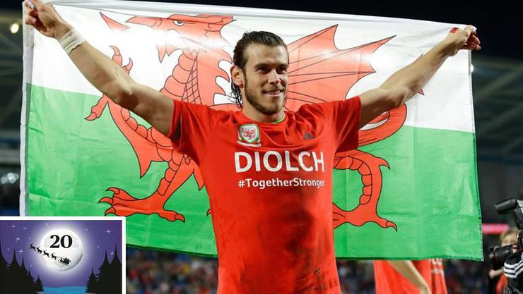 Real-Star Gareth Bale ist die Lebensversicherung der Waliser.