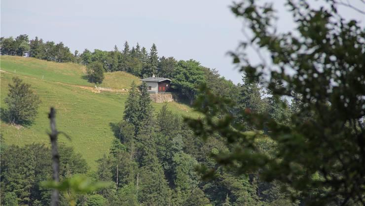 Die Berghütte des Skiclubs Solothurn-Althüsli liegt ideal für eine Skiabfahrt nach Gänsbrunnen.