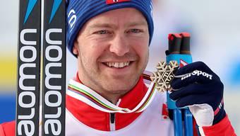 Am Holmenkollen Erster statt wie an der WM viermal Zweiter: Alexander Bolschunow
