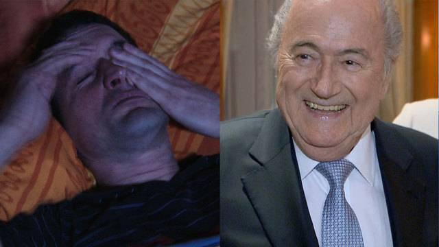 Unfallrisiko Schlafmangel — Geburtstagsparty Blatter