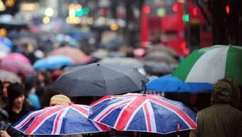 2012 war Englands nassester Sommer seit 100 Jahren (Archivbild)