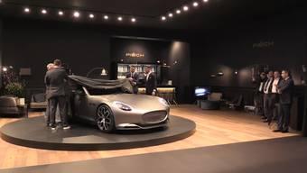 So ist das Modell Piëch Mark Zero von Piëch Automotive den Medien präsentiert worden.