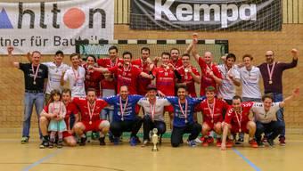 Bei den Männern triumphierte im vergangenen Jahr der TV Zofingen am Cup-Final-4 des Verbandes Aargau plus.