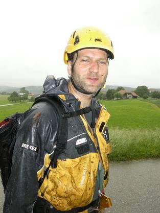 Philipp Biberstein vom SAC Weissenstein Solothhurn zieht ein positives Fazit
