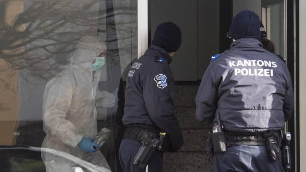 Die beiden Frauen wurden am 8. Januar 2018 in Hausen AG getötet. (Archivbild)