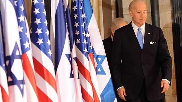 Glaubt an Frieden in Nahost: US-Vize Joe Biden in Jerusalem