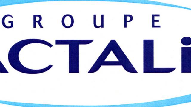 Logo des französischen Molkereikonzerns Lactalis (Archiv)