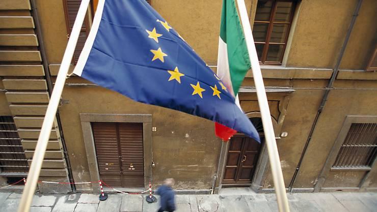 Haushaltsstreit zwischen Rom und Brüssel: Die EU-Kommission wird sich am 21. November zum überarbeiteten Budgetentwurf Italiens äussern. (Archiv)