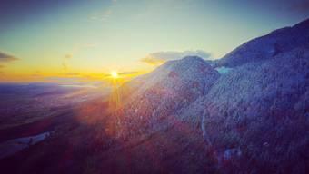 Im Jura ist es weiss: Schnee im November 2019