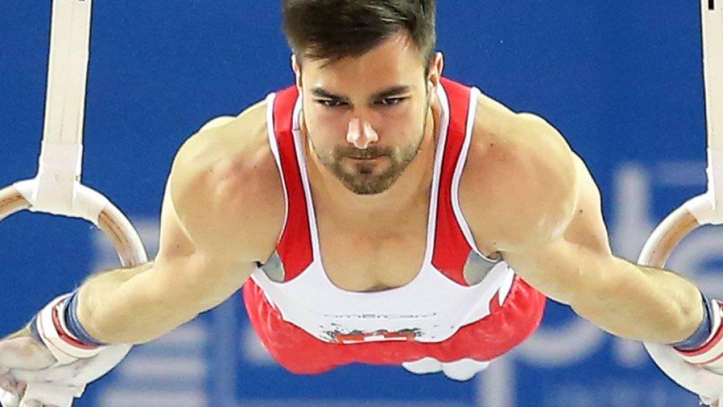 Oliver Hegi zeigte in der Qualifikation an den Europameisterschaften in Cluj-Napoca eine hervorragende Leistung