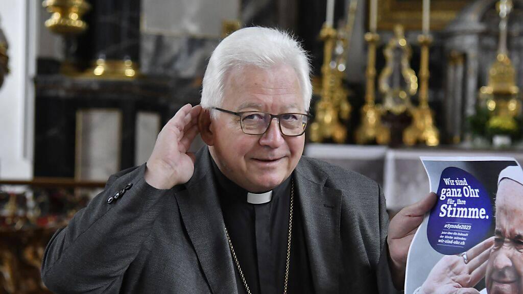 Bistum St. Gallen wünscht sich Lockerung der Zertifikatspflicht