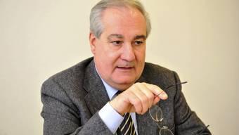 Boris Banga war seit 23 Jahren Stadtpräsident von Grenchen. Am Freitag hat er seinen letzten Arbeitstag.