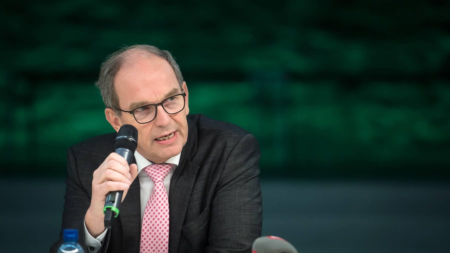 Der St.Galler Regierungspräsident und Gesundheitschef Bruno Damann.