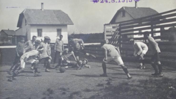 «Erstes Interkantonales Fussball-Tournier» in Biberist