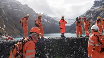 Der Axpo-Pumpspeicher in Linth-Limmern soll Ende 2015 in Betrieb gehen. Ob das Projekt wirtschaftlich betrieben werden kann, ist umstritten. Christian Beutler/keystone
