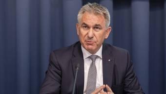 Bildungsdirektor Alex Hürzeler weibelt für die neuen Führungsstrukturen.