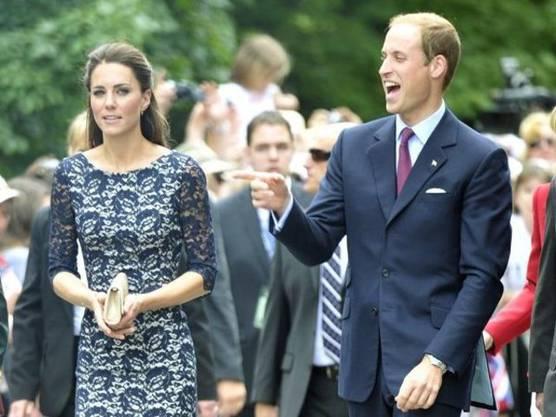 Prinz William und Gattin Kate bei ihrem Besuch in Ottawa