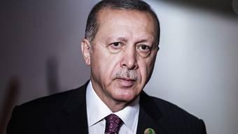 """""""Wir werden keinen Schritt zurückweichen"""": der türkische Präsident Recep Tayyip Erdogan zu Sanktionsdrohungen aus den USA. (Archivbild)"""
