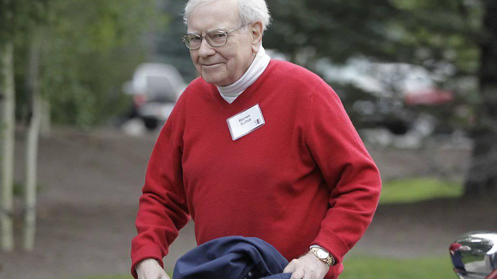 Grossinvestor Warren Buffet wird nach eigenen Angaben niedriger besteuert als seine Sekretärin. (Archivbild)