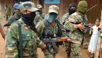Milizen in Kolumbien nehmen oft Gewerkschafter ins Visier (Archiv)