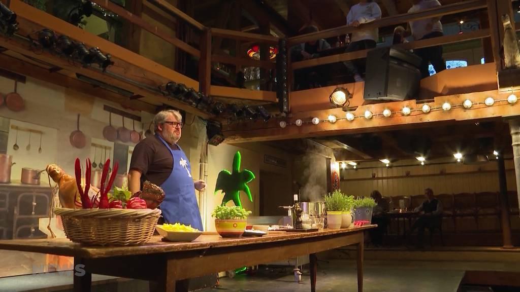 Schauspieler Mike Müller kocht für Mühle Hunziken