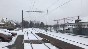 Weil beim Westbahnhof eine Weiche nicht gestellt werden konnte, fuhren beim Bahnhof Langendorf keine Züge durch.
