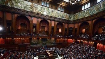 Blick auf den italienischen Senat