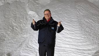 Wird für seine Dialogbereitschaft gelobt: Urs Hofmeier, seit 2012 Geschäftsführer der Schweizer Salinen.