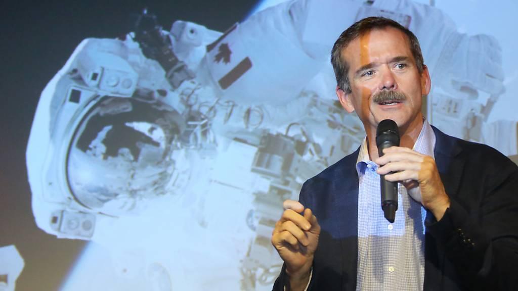 Ex-Astronaut Hadfield veröffentlicht Weltall-Thriller