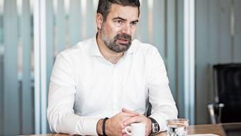 Seit 2010 bei der Siegfried AG, seit 2019 an der Spitze: CEO Wolfgang Wienand. In den zehn Jahren seit seinem Eintritt ist der Chemiezulieferer aus Zofingen rasant gewachsen.