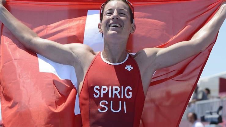 Nicola Spirig holt ihren fünften Einzel-EM-Titel im Triathlon