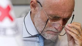 War für zwei Tage in Syrien zu Besuch: IKRK-Präsident Jakob Kellenberger