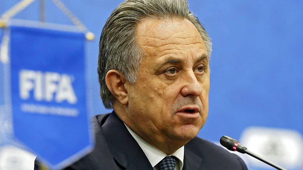 Witali Mutko sitzt seit 2009 im FIFA-Exekutivkomitee, das im Vorjahr in das Council umgewandelt wurde