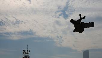 Auch der Big-Air-Event der Snowboarder wird olympisch