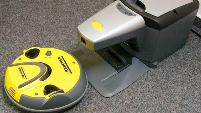 Ein Roboter-Staubsauger (Symbolbild)