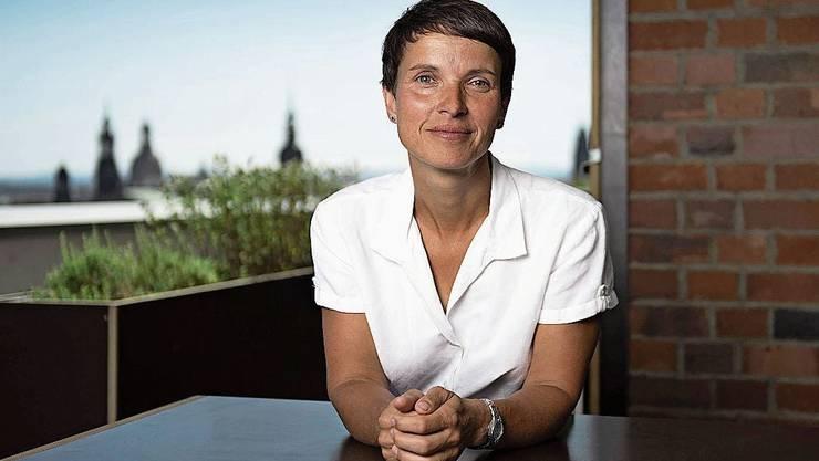 Früher Co-Chefin, jetzt Kritikerin der AfD: Frauke Petry.
