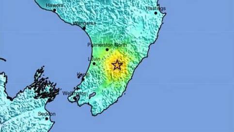 In Neuseeland bebt die Erde: Epizentrum in 27 Kilometern Tiefe