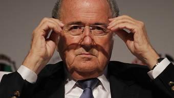 Sepp Blatter, als er noch die FIFA präsidierte (Archiv)