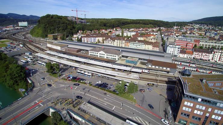 Das offizielle Olten legt in der neuen Legislatur das Hauptaugenmerk auf die Attraktivierung des Bahnhofplatzes.
