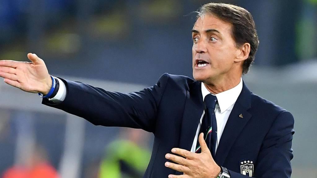 Roberto Mancini soll Italien neuen Glanz verleihen