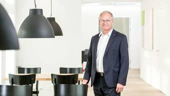 Daniel Lüscher hilft der Keba als Verwaltungsrat.