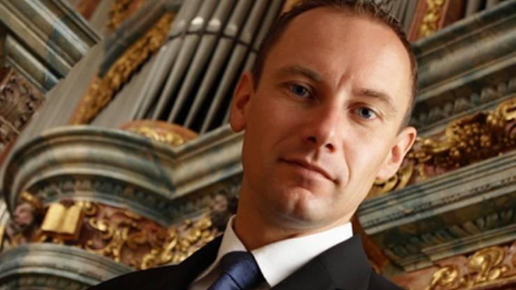 Organist Johannes Strobl.zVg